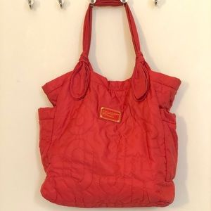 MARC by Marc Jacobs Coral Nylon Quilted Tote
